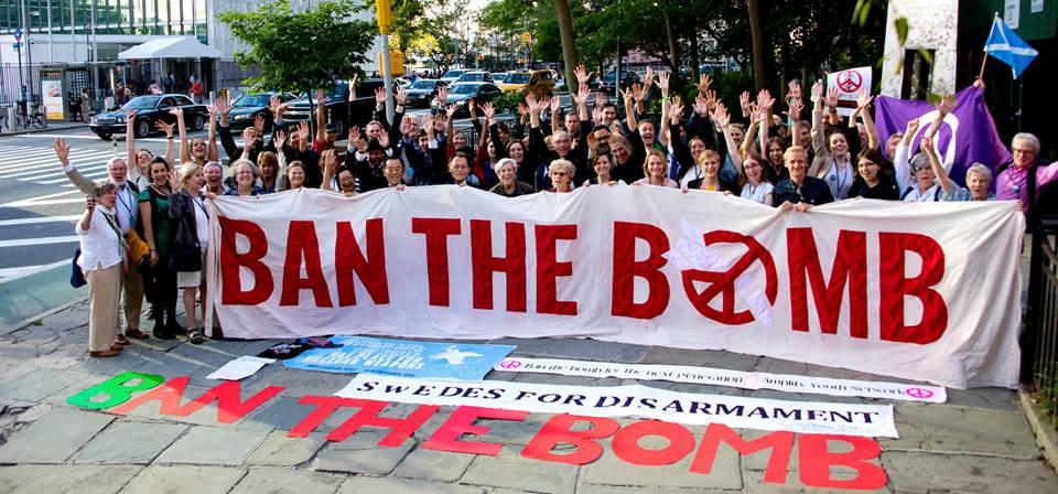 Ydinaseet kieltävä sopimus on hyväksytty YK:ssa